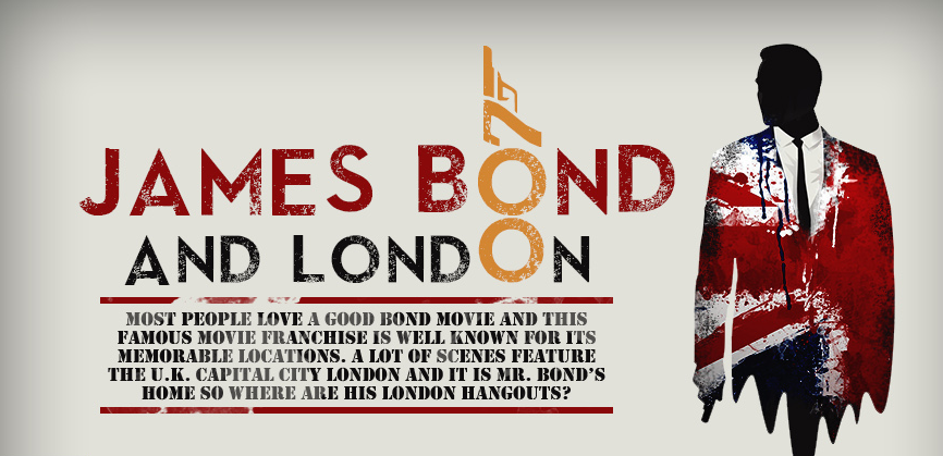 James Bond and London- infographic header