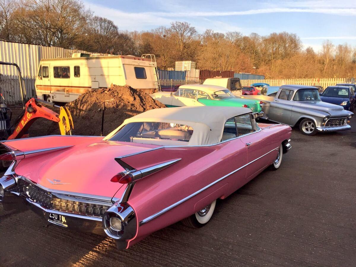 Pink Cadillac Car Hire