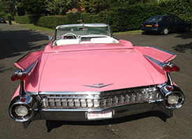 Pink Classic Caddy Front View