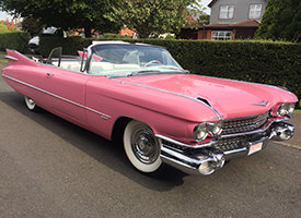 Pink Classic Caddy Right View