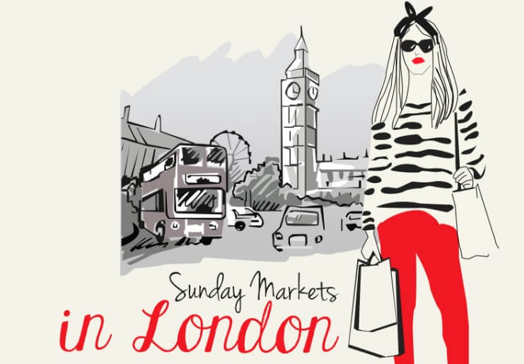 Sunday markets in London header image